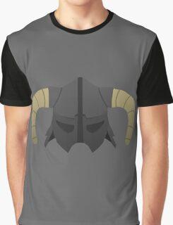 Skyrim Helmet Graphic T-Shirt