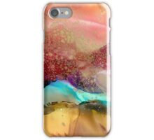 Gold Dust Skies and Turquoise Mountains  iPhone Case/Skin
