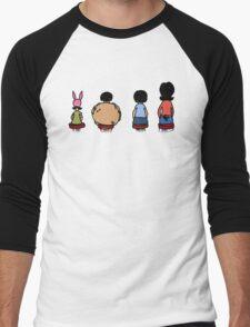 Linda and her kids  Men's Baseball ¾ T-Shirt
