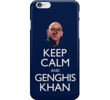 Keep Calm and Genghis Khan iPhone Case/Skin