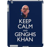 Keep Calm and Genghis Khan iPad Case/Skin