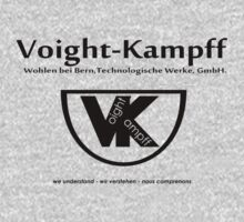 Voight Kampff - Offworld Colonies [blackblack iteration] One Piece - Long Sleeve