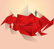 Social Media Circles, Network Illustration by artgrpx
