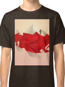 Social Media Circles, Network Illustration Classic T-Shirt