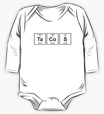 Breaking Bad - Tacos and Chemistry One Piece - Long Sleeve