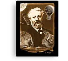 Jules Verne Tribute Canvas Print