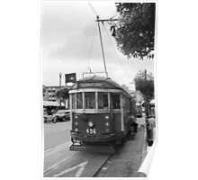 San Francisco Trolley Car Poster