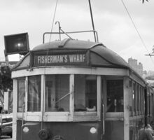 San Francisco Trolley Car Sticker