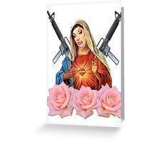 virgin alaska Greeting Card