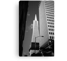 San Francisco - Transamerica Pyramid Building Canvas Print