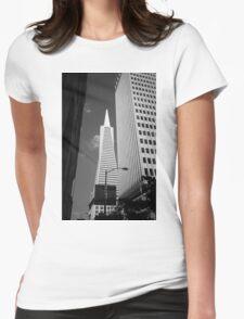 San Francisco - Transamerica Pyramid Building Womens Fitted T-Shirt