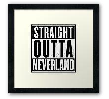 Neverland Framed Print