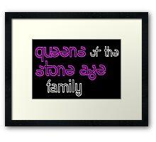 QOTSA Fam gear Framed Print