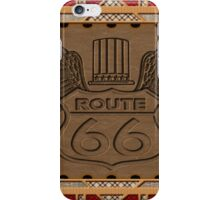 Route 66 america highway USA historic iPhone Case/Skin