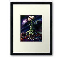 Three Eyed Dancer Framed Print