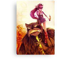 Adult Annie League of Legends Canvas Print