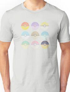 Eeveelution Pokeballs (Light) Unisex T-Shirt