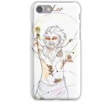 Leo with Sunflowers and Marigolds iPhone Case/Skin