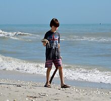 Beatles Boy with Starfish by Karen Checca