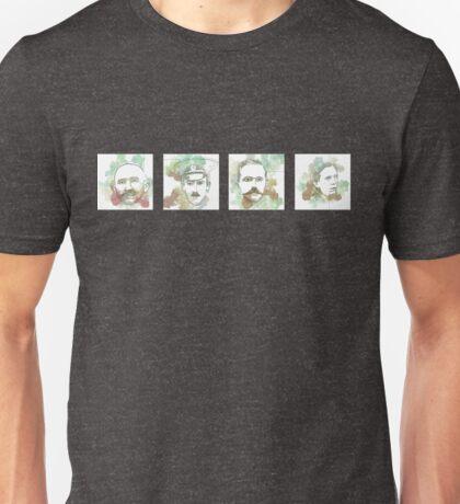 1916 commemorative print: 16 leaders 1-4 Unisex T-Shirt