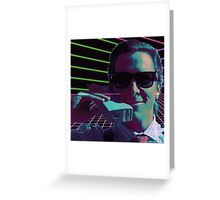 American Psycho calling Greeting Card