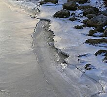 Frozen Shoreline Saint Clair 1 by marybedy