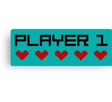 Player 1 Canvas Print
