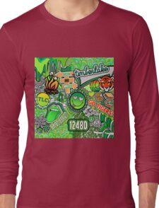 Camp Timber Lake Collage Long Sleeve T-Shirt
