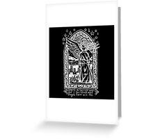 Black Eyed Angels - Inverted  Greeting Card
