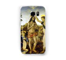 Leonardo da Vinci The Baptism of Christ Samsung Galaxy Case/Skin