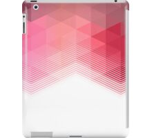 Red Geometrical iPad Case/Skin