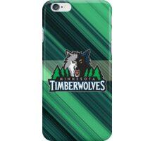 Minnesota Timberwolves basketball team iPhone Case/Skin