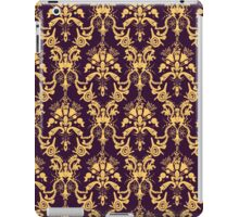 Cosmic Damask Eggplant iPad Case/Skin