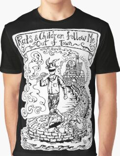 Rats and Children - Kid A  Graphic T-Shirt