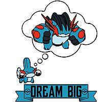 Mudkip Dream Big Photographic Print