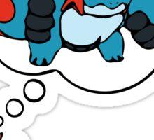 Mudkip Dream Big Sticker