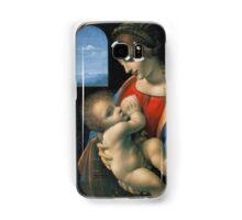 Leonardo da Vinci Madonna Litta Samsung Galaxy Case/Skin