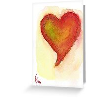 Aceo Heart # 2 Greeting Card