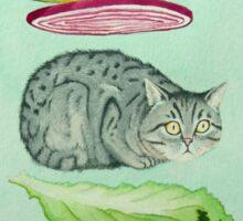 Catsup - Cat Burger Delight! Sticker