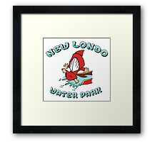 New Londo Water Park Framed Print