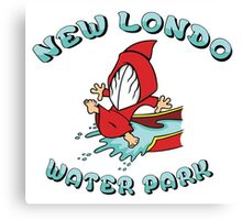 New Londo Water Park Canvas Print