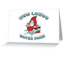 New Londo Water Park Greeting Card