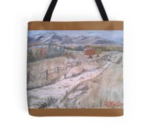 Shed in the Foothills Tote Bag