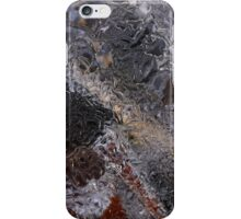 Hiking Trail Ice Abstract 2 iPhone Case/Skin
