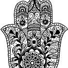 The Hamsa Hand by Carolyn Huane