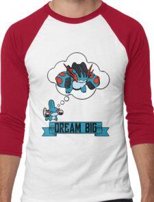 Mudkip Dream Big Men's Baseball ¾ T-Shirt