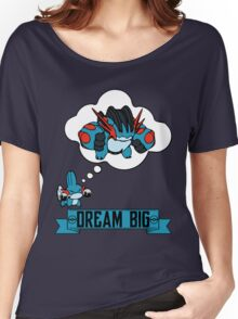 Mudkip Dream Big Women's Relaxed Fit T-Shirt