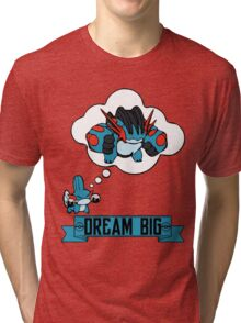 Mudkip Dream Big Tri-blend T-Shirt