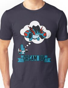 Mudkip Dream Big Unisex T-Shirt