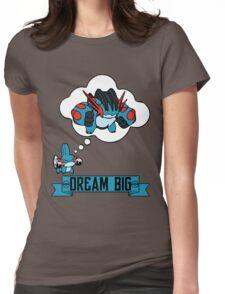 Mudkip Dream Big Womens Fitted T-Shirt